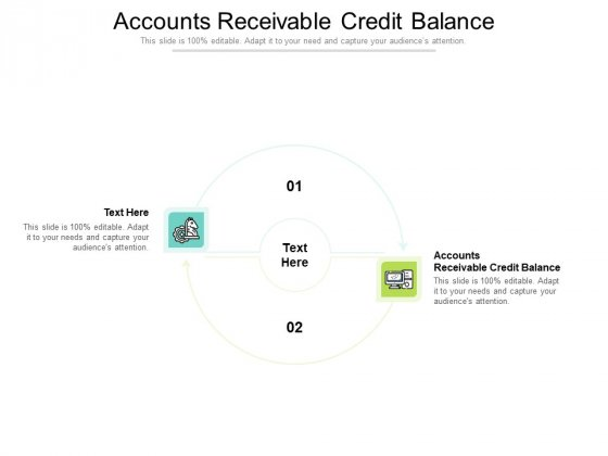 Accounts Receivable Credit Balance Ppt PowerPoint Presentation Summary Gridlines Cpb Pdf