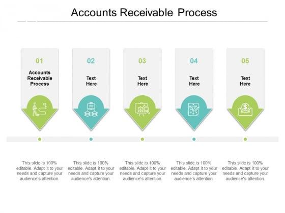 Accounts Receivable Process Ppt PowerPoint Presentation Slides Deck Cpb
