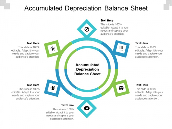 Accumulated Depreciation Balance Sheet Ppt PowerPoint Presentation Gallery Gridlines Cpb Pdf