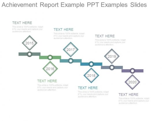 Achievement Report Example Ppt Examples Slides