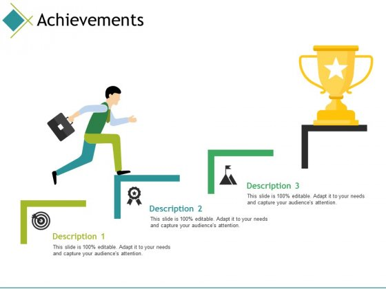 Achievements Ppt PowerPoint Presentation Gallery Format Ideas
