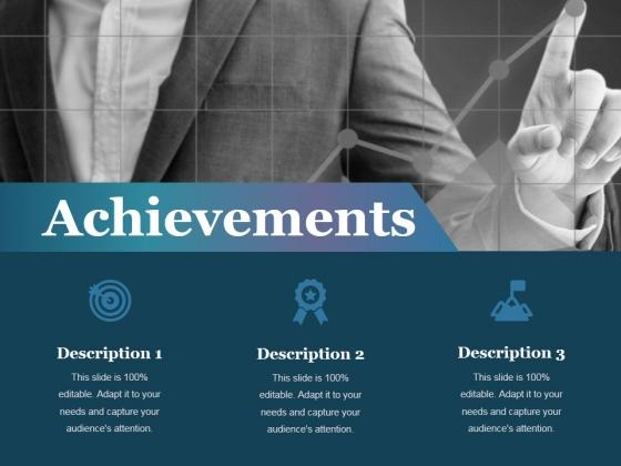 Achievements Ppt PowerPoint Presentation Infographics File Formats