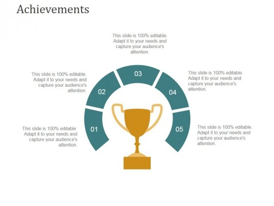 Achievements Ppt PowerPoint Presentation Model Ideas