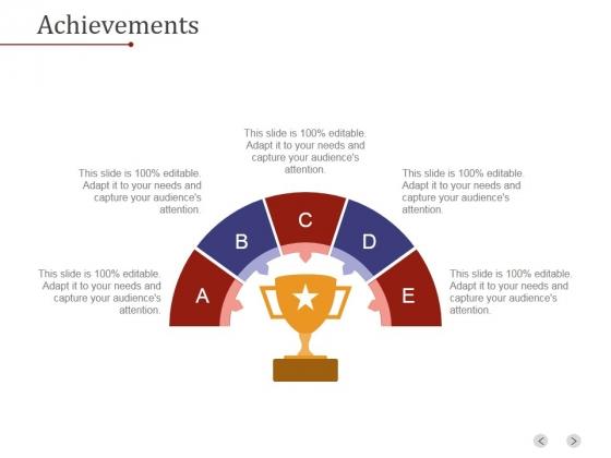 Achievements Template 1 Ppt PowerPoint Presentation Templates