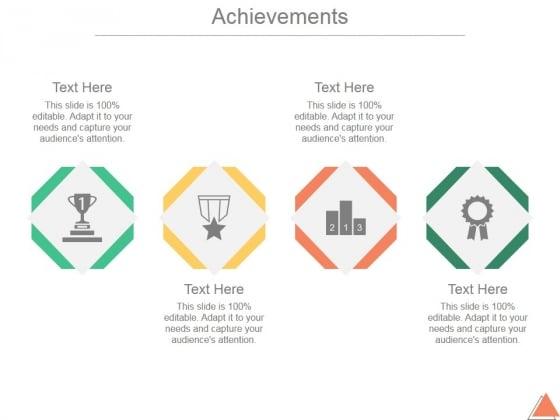achievement presentation ppt