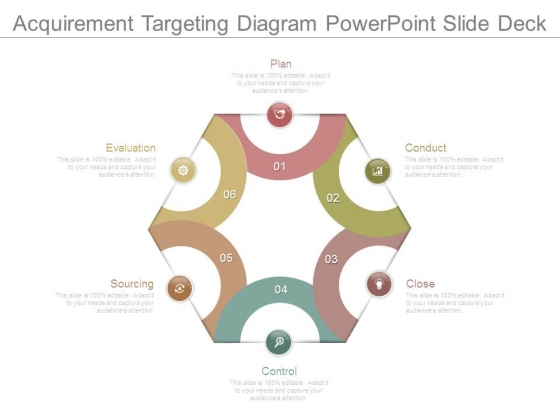 Acquirement Targeting Diagram Powerpoint Slide Deck