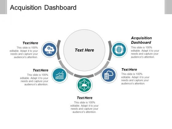 Acquisition Dashboard Ppt PowerPoint Presentation Portfolio Demonstration