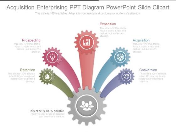 Acquisition Enterprising Ppt Diagram Powerpoint Slide Clipart
