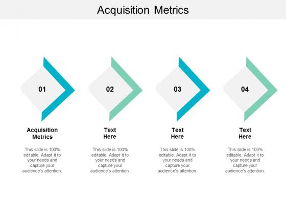 Acquisition Metrics Ppt PowerPoint Presentation Summary Inspiration Cpb
