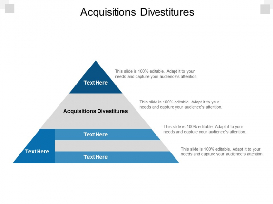 Acquisitions Divestitures Ppt PowerPoint Presentation Summary Layouts Cpb