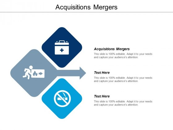 Acquisitions Mergers Ppt PowerPoint Presentation File Smartart Cpb