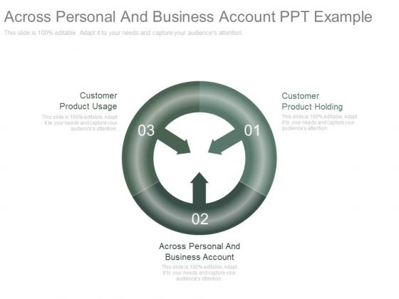 Across Personal And Business Account Ppt Example