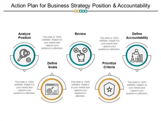 Action Plan For Business Strategy Position And Accountability Ppt PowerPoint Presentation Portfolio Example Introduction