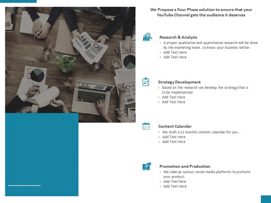 Action Plan For Youtube Marketing Proposal Ppt PowerPoint Presentation Model Slide