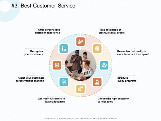 Action Plan Gain Competitive Advantage Best Customer Service Ppt Slides Example Topics PDF