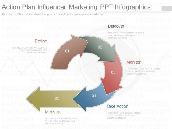 Action Plan Influencer Marketing Ppt Infographics