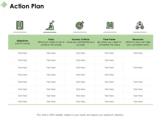 Action Plan Ppt PowerPoint Presentation Show Example