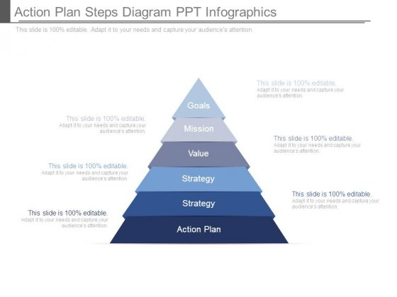 Action Plan Steps Diagram Ppt Infographics