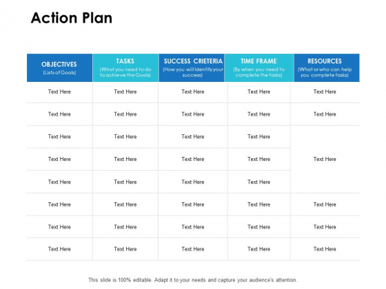 Action Plan Success Ppt PowerPoint Presentation Show Example
