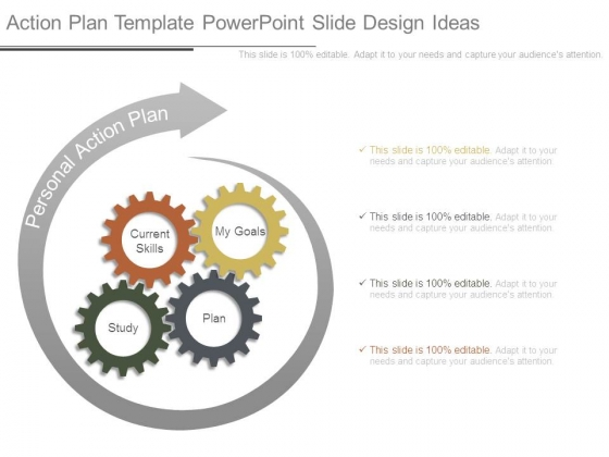 Action Plan Template Powerpoint Slide Design Ideas