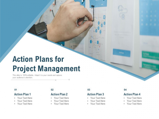 Action Plans For Project Management Ppt PowerPoint Presentation Model Picture