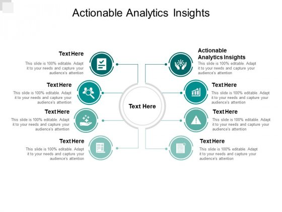 Actionable Analytics Insights Ppt PowerPoint Presentation Styles Infographics Cpb