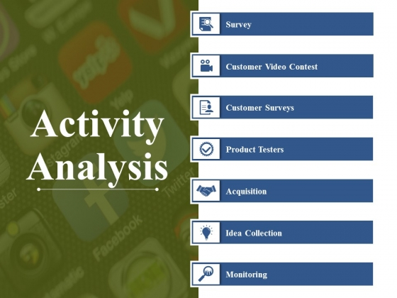 Activity Analysis Ppt PowerPoint Presentation Styles Elements