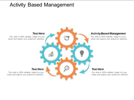 Activity Based Management Ppt Powerpoint Presentation Model Display Cpb