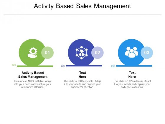 Activity Based Sales Management Ppt PowerPoint Presentation Show Information Cpb Pdf
