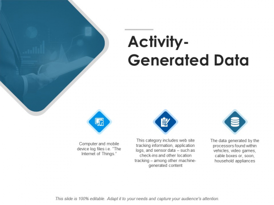 Activity Generated Data Mobile Ppt PowerPoint Presentation Portfolio Outline