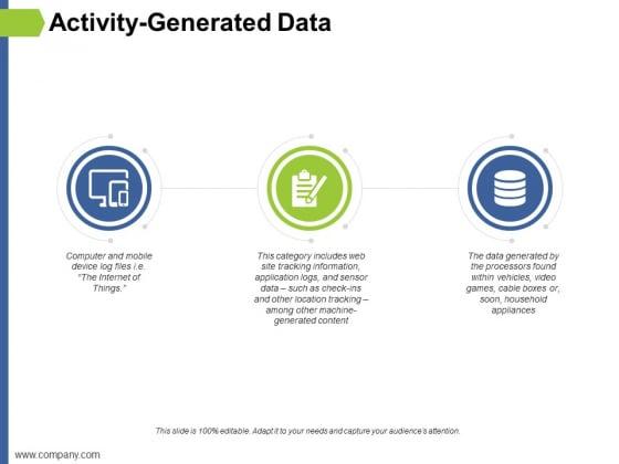 Activity Generated Data Ppt PowerPoint Presentation Portfolio Styles