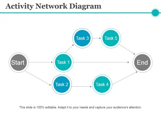 Activity Network Diagram Ppt PowerPoint Presentation Ideas Design Inspiration