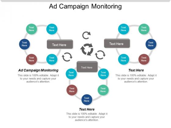 Ad Campaign Monitoring Ppt PowerPoint Presentation Portfolio Brochure Cpb
