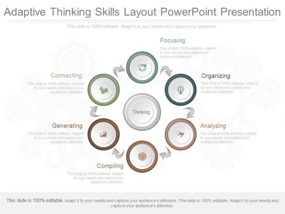 Adaptive Thinking Skills Layout Powerpoint Presentation