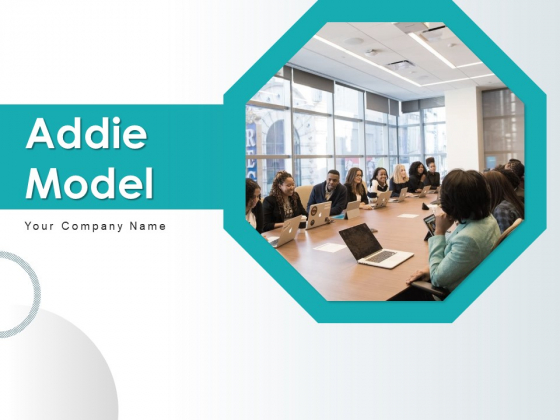 Addie Model Implement Develop Ppt PowerPoint Presentation Complete Deck