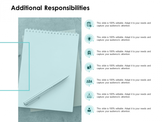 Additional Responsibilities Agenda Ppt PowerPoint Presentation Outline Graphics Download