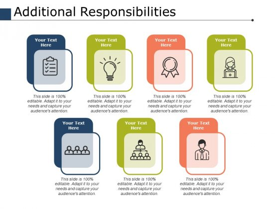 Additional Responsibilities Ppt PowerPoint Presentation Model Gallery