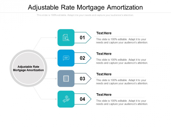 Adjustable Rate Mortgage Amortization Ppt PowerPoint Presentation Model Themes Cpb Pdf