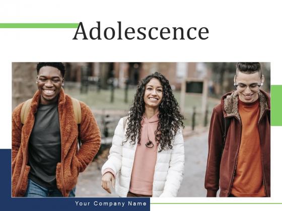 Adolescence Silhouette Team Ppt PowerPoint Presentation Complete Deck