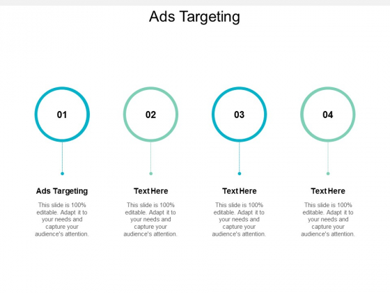 Ads Targeting Ppt PowerPoint Presentation Layouts Outline Cpb