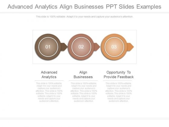Advanced Analytics Align Businesses Ppt Slides Examples