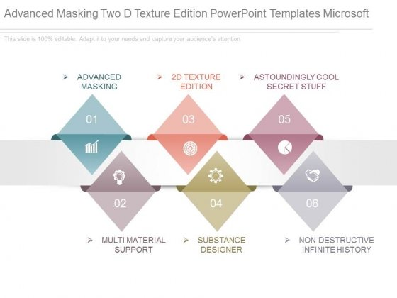 Advanced Masking Two D Texture Edition Powerpoint Templates