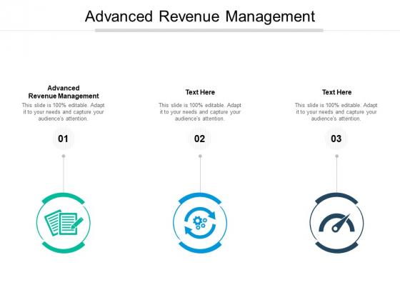 Advanced Revenue Management Ppt PowerPoint Presentation Slides Smartart Cpb Pdf
