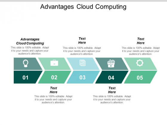 Advantages Cloud Computing Ppt PowerPoint Presentation Gallery Designs Cpb