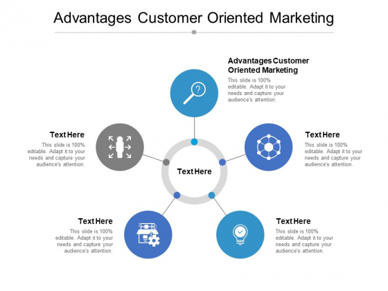 Advantages Customer Oriented Marketing Ppt PowerPoint Presentation Layouts Slides Cpb