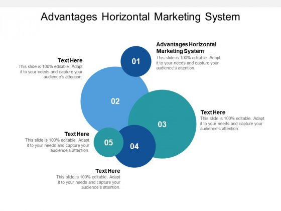 Advantages Horizontal Marketing System Ppt PowerPoint Presentation Clipart Cpb