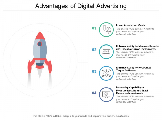 Advantages Of Digital Advertising Ppt PowerPoint Presentation Layouts Example File