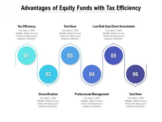 Advantages Of Equity Funds With Tax Efficiency Ppt PowerPoint Presentation Infographic Template Clipart Images