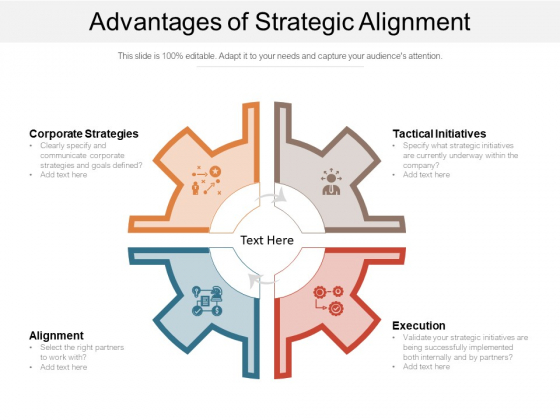Advantages Of Strategic Alignment Ppt PowerPoint Presentation File Smartart PDF