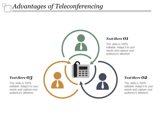 Advantages Of Teleconferencing Ppt Powerpoint Presentation Professional Visual Aids